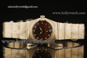 Omega Constellation Ladies 28MM Watch 2315246051002 Steel Case