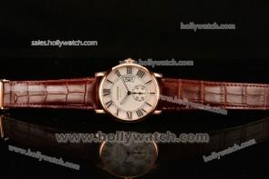 Cartier Calibre De Watch W7100009R Rose Gold Case
